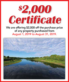 Land For Sale Certificate