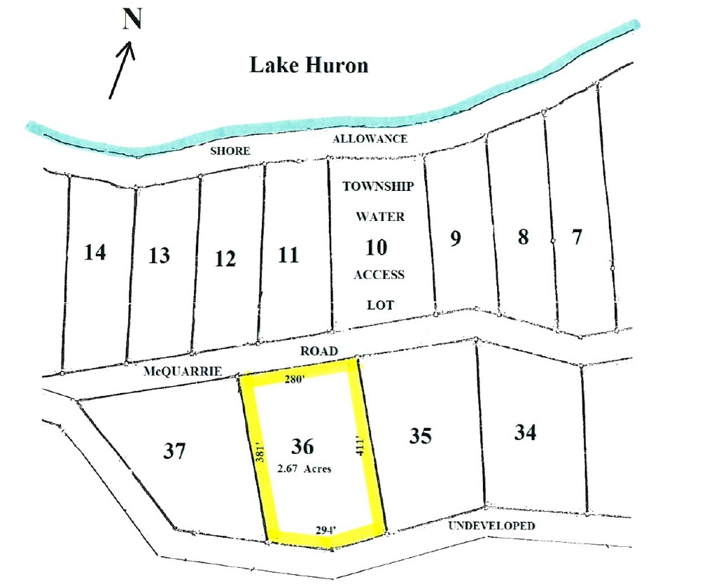 Land For Sale Manitoulin Island Ontario